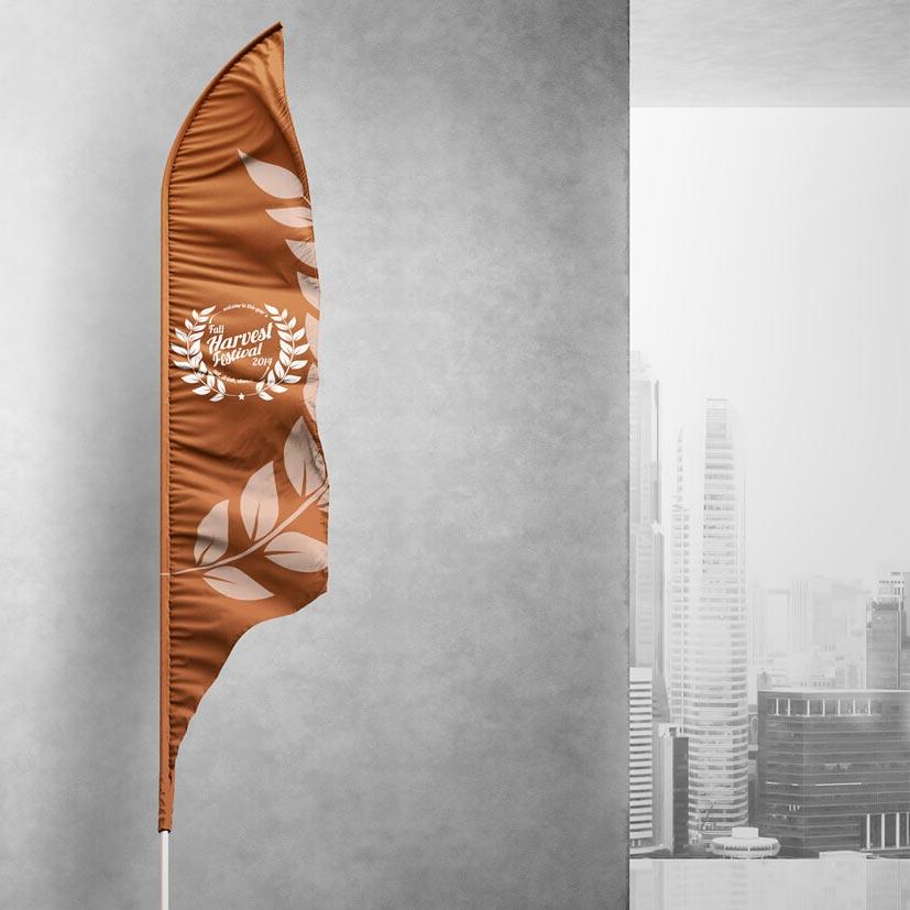 Διαφημιστικές Σημαίες (Flying Banners)