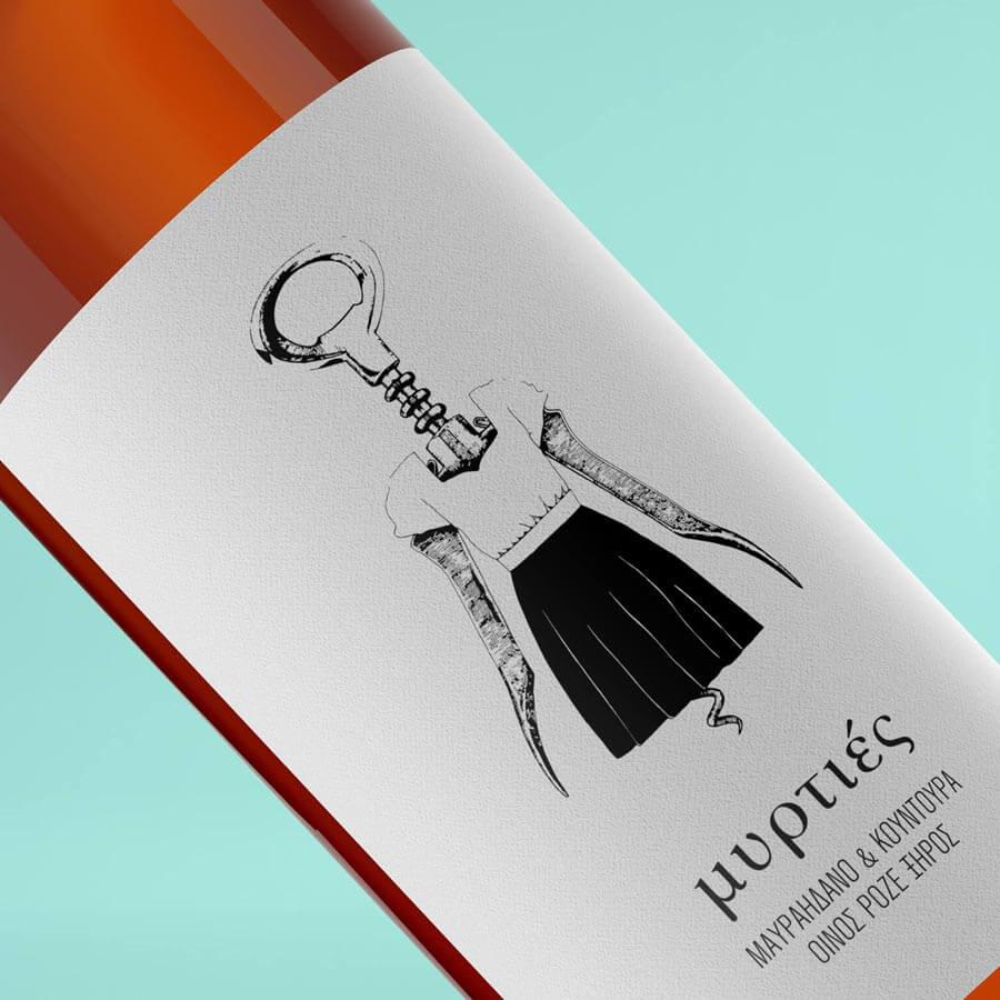 Αυτοκόλλητες ετικέτες κρασιού
